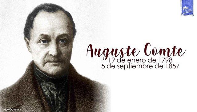 Auguste Comte (1788 - 1857)