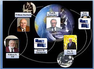 TEORIA CONTINGENCIAL: WLLIAM DILL, WILLIAM STARBOCK, JANES THOMPSON, PAUL LAWRENCW, JAY LORSCH y TOM BUNNS