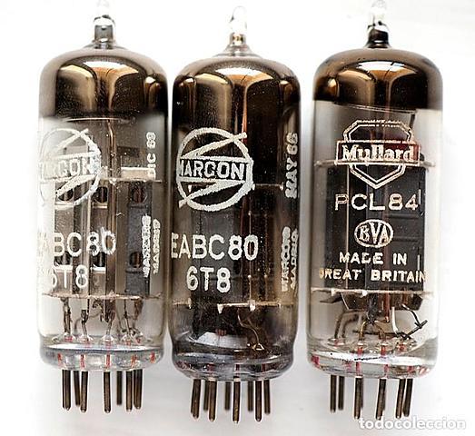 Ordenadores construídos con válvulas de vacío