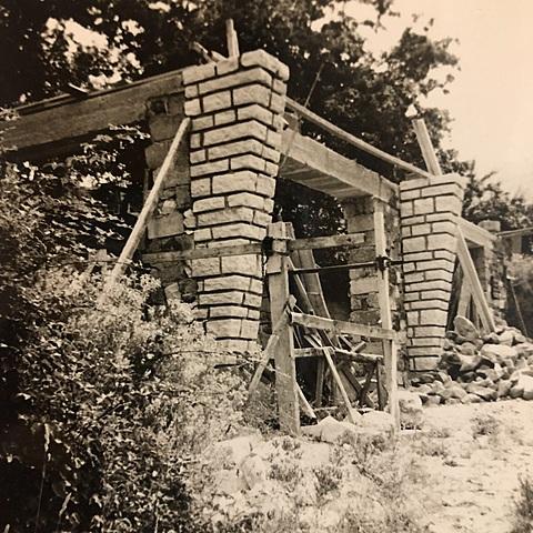 La construction de la maison à Nojaret