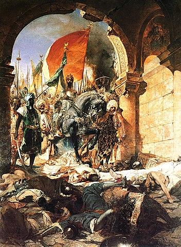 Zdobycie Konstantynopola przez Turków