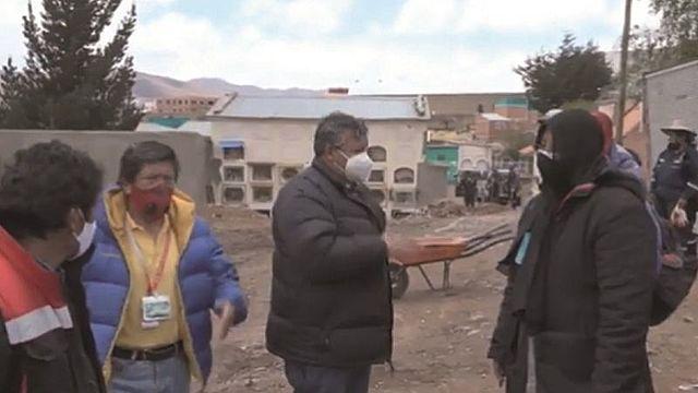 Potosí: familias de 302 fallecidos por Covid-19 exigen identificar los restos
