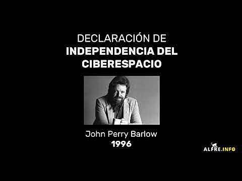 Declaración de Independencia del Ciberespacio