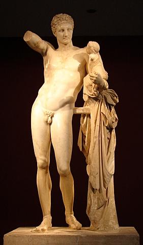 Hermes amb Dionaís infant.