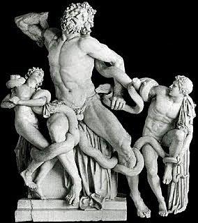Laocoont i els seus fills.