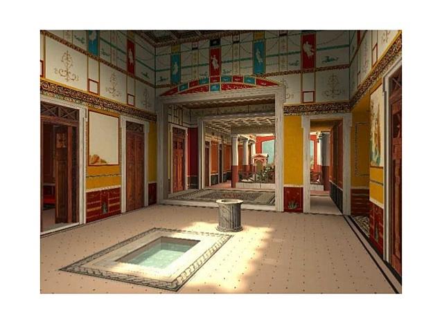 Casa del poeta tràgic de Pompeia.