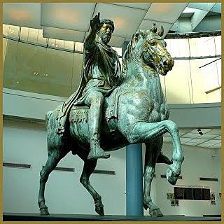 Escultura eqüestre de Marc Aureli.