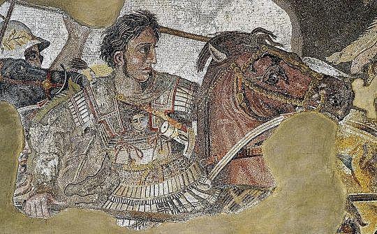 Mort d'Alexandre Magne i la fi del període clàssic.