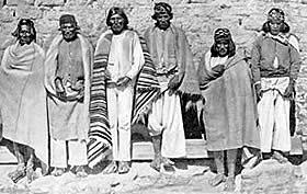 Union de tepehuanes y tarahumaras