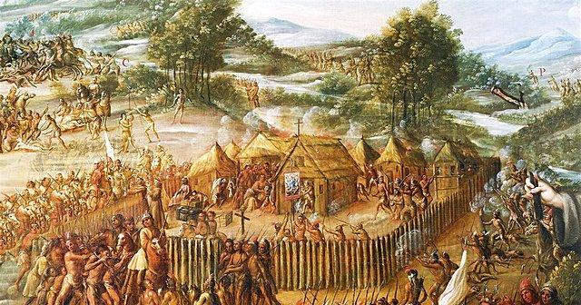 Union de tarahumaras junto con los apaches, jacomes y janos
