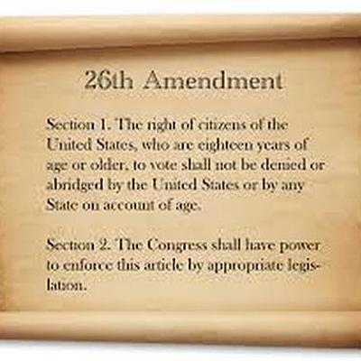 The 26th Amendment timeline