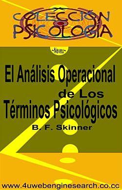 Skinner y el operacionismo