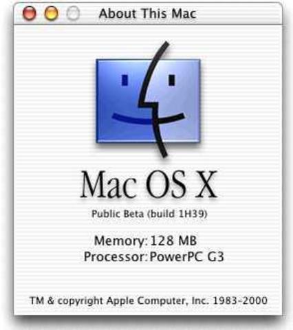 Lanazamiento de Mac OS X