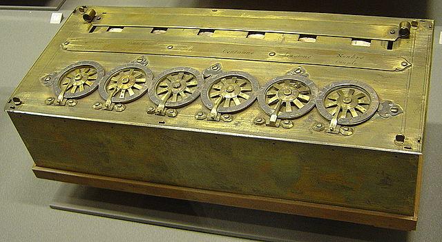 Maquina para sumar (Pascalina)