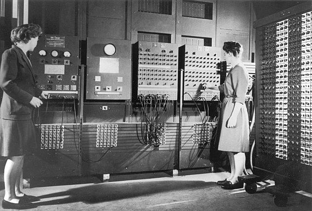 ENIAC (Primera computadora electronica)