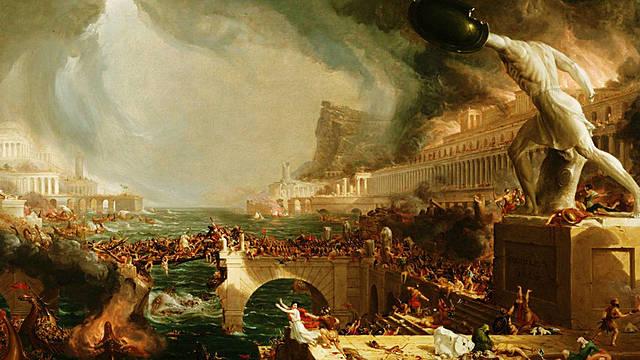 Caida del imperio Romano Occidental