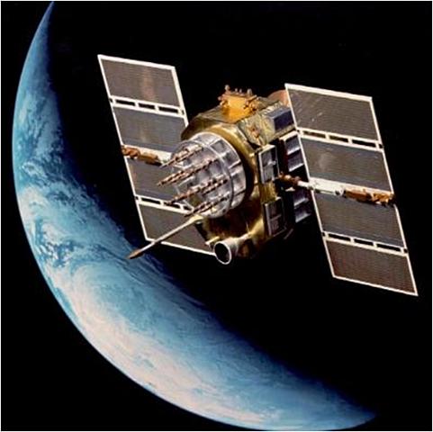 Satelitter i verdensrommet