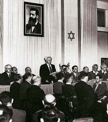 Staatsgründung Israel