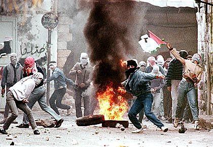 Beginn der Intifada