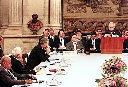 Friedenskonferenz in Madrid