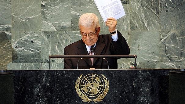 Palästinas Antrag bei den Vereinten Nationen