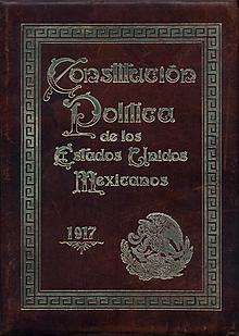 Promulgación de la Constitución Federal de los Estados Unidos Mexicanos