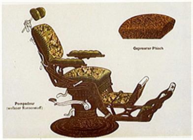 Primera silla reclinable