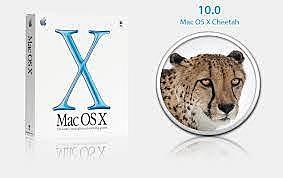 """Mac OS X 10.0 """"Cheetah"""""""