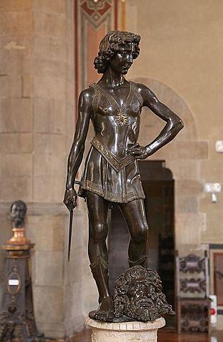 Escultura en el Quattrocento - David (Verrocchio)