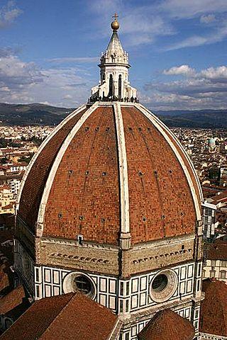 Arquitectura en el Quattrocento - Catedral de Santa María del Fiore (Cúpula Filippo Brunelleschi)