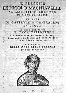 Literatura en el Cinquecento - El príncipe - Nicolás Maquiavelo