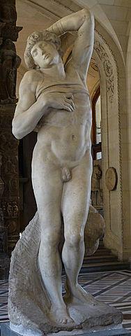 Escultura en el Cinquecento - Esclavo moribundo - Miguel Ángel