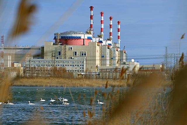 Начало работы Ростовской АЭС