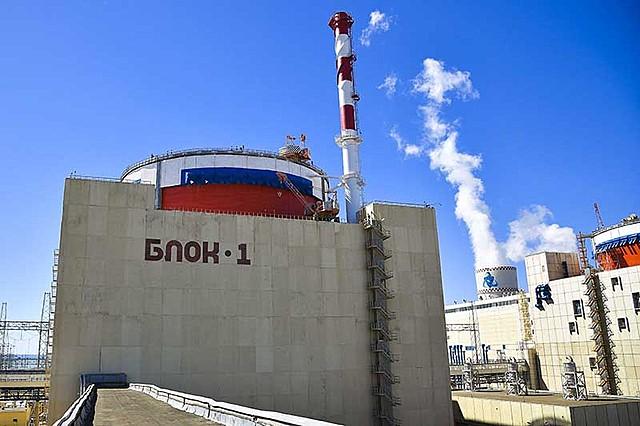 Остановка 1 энергоблока Ростовской АЭС