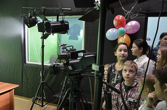 Открытие детско-юношеской телестудии