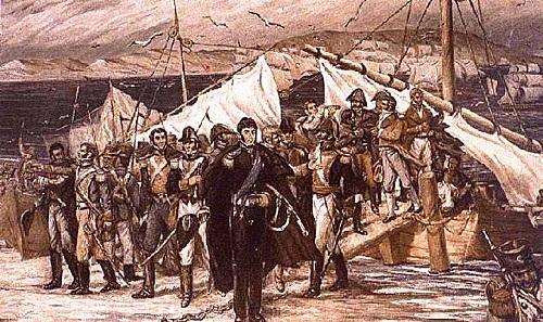 Llegada de José de San Martín al Perú