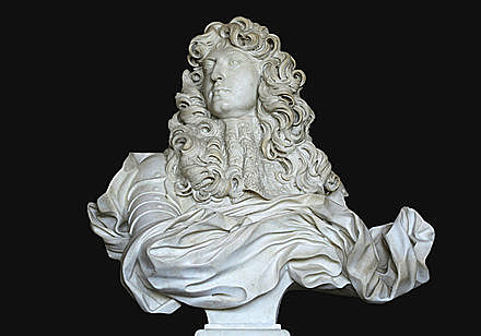 Escultura en el Barroco - Busto del rey Luis XIV - Gian Lorenzo Bernini
