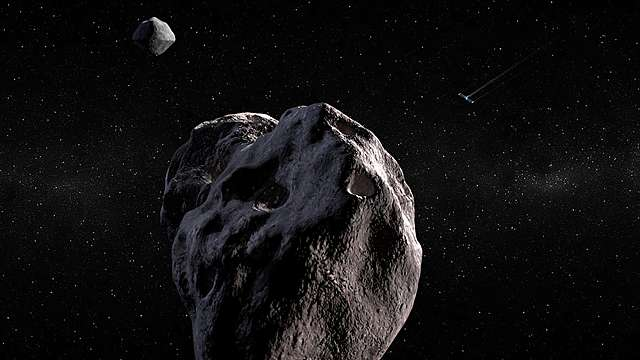 Discovery of the first 4 asteroids.