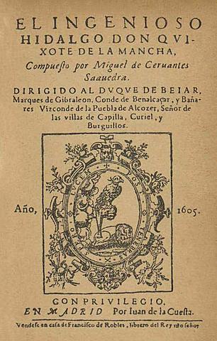Literatura en el Barroco - Don Quijote de la Mancha - Miguel de Cervantes Saavedra