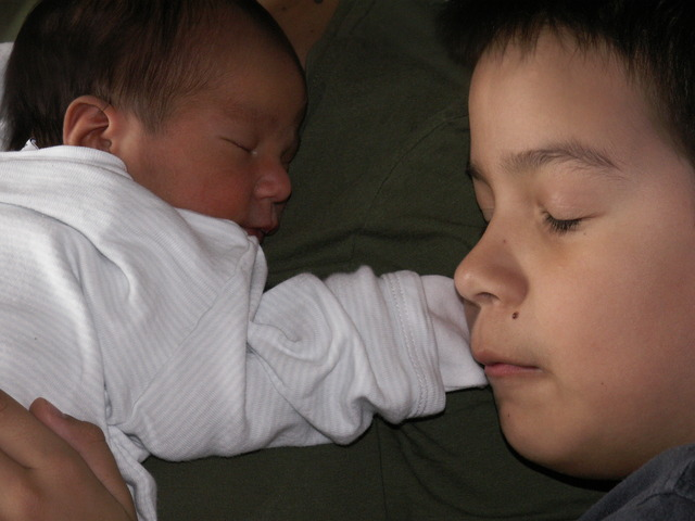 Nace mi segundo sobrino.