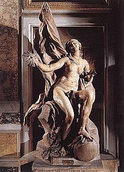 Verdad descubierta por el Tiempo (Gian Lorenzo Bernini - 1645)