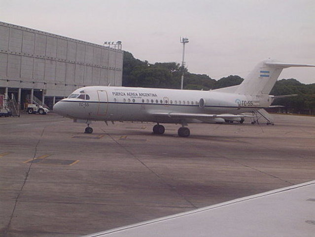 Primer vuelo en un avion Focker de la FAG