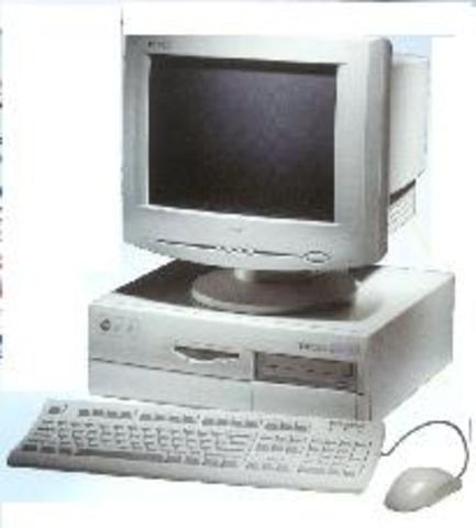 Mi primera computadora, PENTIUM II corría DOS y varios juegos, entre ellos PREHISTORIC