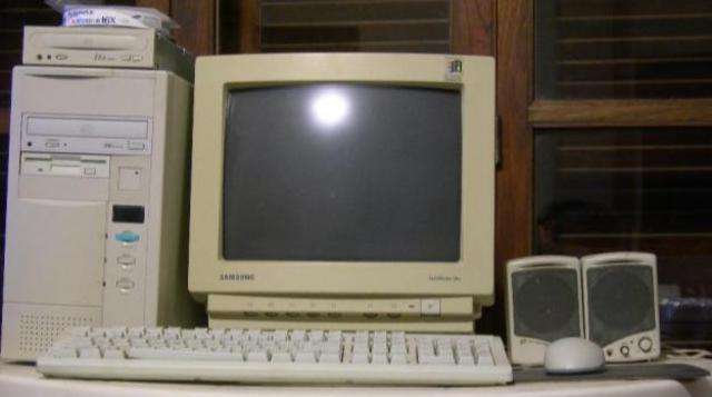 Primera computadora para la casa (Q7,000) ahora, compraria  tres máquinas por el mismo precio.