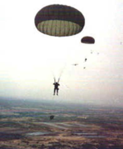 Traslado a la Base Militar General Felipe Cruz Puerto de San José Escuintla, (Base de Paracaidistas)