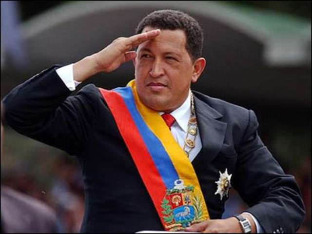 HUGO CHAVEZ GANA LAS ELECCIONES DE VENEZUELA