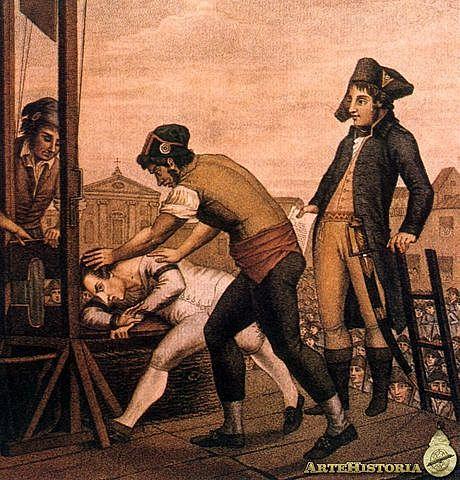 Ejecución de Robespierre