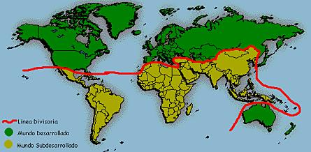 Países del Tercer Mundo