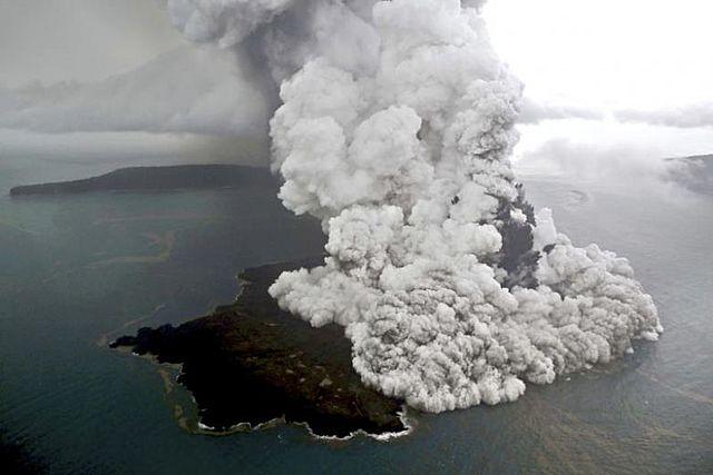 The Eruption of Krakatoa