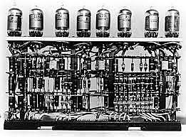 Ordenadores construidos con válvulas de vacío